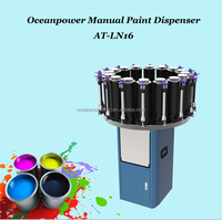 Manual Paint Dispenser/Paint Tinting Machine for decorative color, semi automatic coating color dipsenser