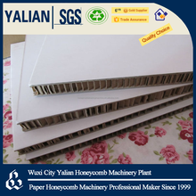 White Paper Honeycomb Board For Display Stand