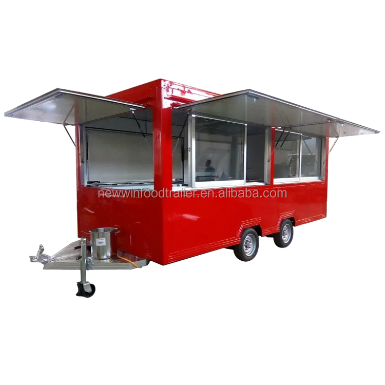 Most popular mobile coffee cart food trailer