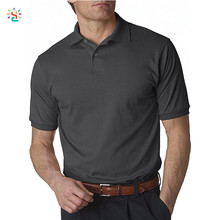 New Apparel golf shirt custom men short sleeve two button up polo t-shirt man business work performance top shirts