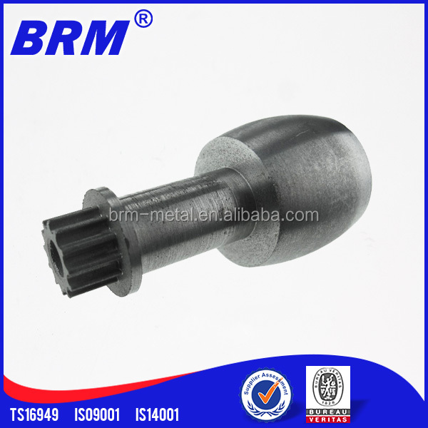 PM process steel or iron bridge construction machinery spare parts