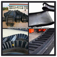 For Best Price 2013 China Hot Selling All Types Of High Quality Rubber Sidewall Conveyor Belt from chinese rubber belt factory