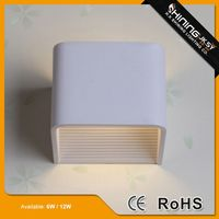 High bright aluminum led shine up and down wall light