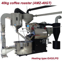 Factory price stainless steel 40kg Drum Coffee Roaster for sale/coffee roaster machine for coffee shop