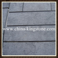 High quality shanxi black granite tile with own quarry & CE certificate