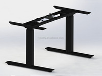 stand up standing height adjustable desk
