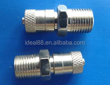 "Pump and pipe Filler Valve (1/8"" NPT or 1/8"" BSPT or 1/8"" BSP or other thread Schrader valve )"