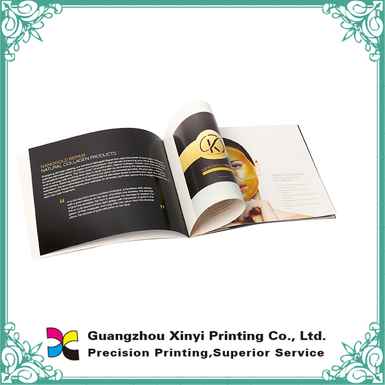 Guangzhou hottest new creative fashionable brochure examples