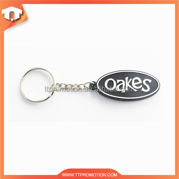 classic style new product hot sale custom keychain pvc