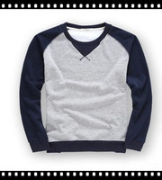 CrewNeck 100% Fleece Polyester Mens Pullover Sweatshirt