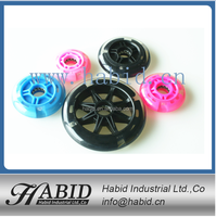 High quality 120x24mm PU/PVC scooter wheels roller skate manufacturer
