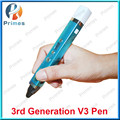 2016 christmas gift 3d printer pen accpet use powerbank with 3colors