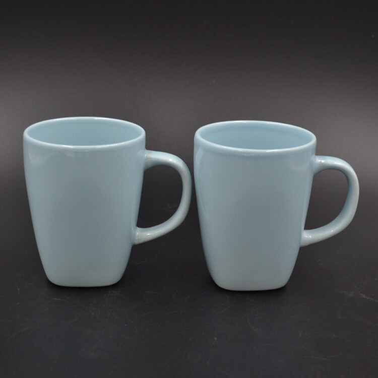 new arrival product suqare bottom ceramic coffee cup