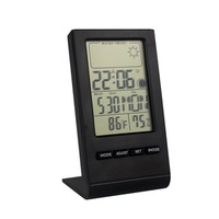 Promotional Digital weather station clock with thermo hygrometer