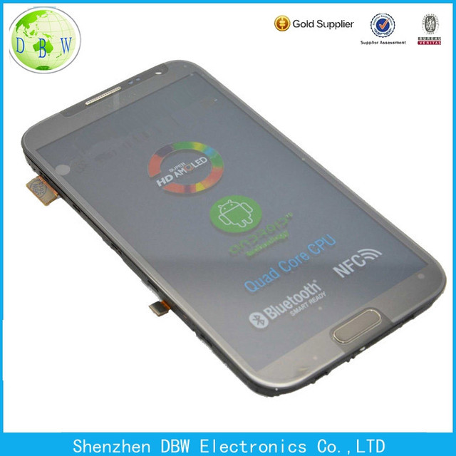 oem touch screen with digitizer for samsung galaxy note 2 sgh-i317 lcd screen