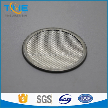 stainless steel filter discs for PE-PP sheet extrusion line