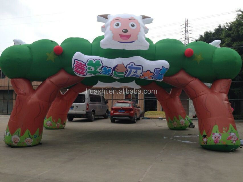 cheap decoration inflatable animal arch