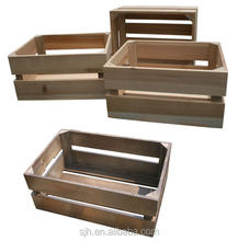 New Design Hot Selling cheap wood fruit crates for sale