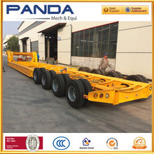 Heavy duty multi axles lowbed wind blade transportation semi trailer