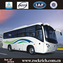 China supplier 35 seat luxury passenger coach tourist bus for sale