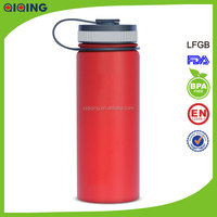 18oz Double Wall Insulated Stainless Steel Sports Water Bottle / Vacuum Thermo Bottle
