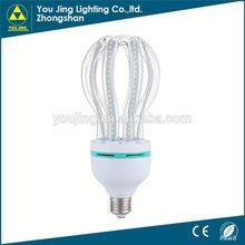 Zhongshan hot sale high lotus energy saving lights flower shape energy saving light bulb