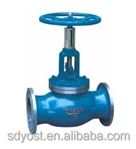 150mm diameter PN16 stop valve for water