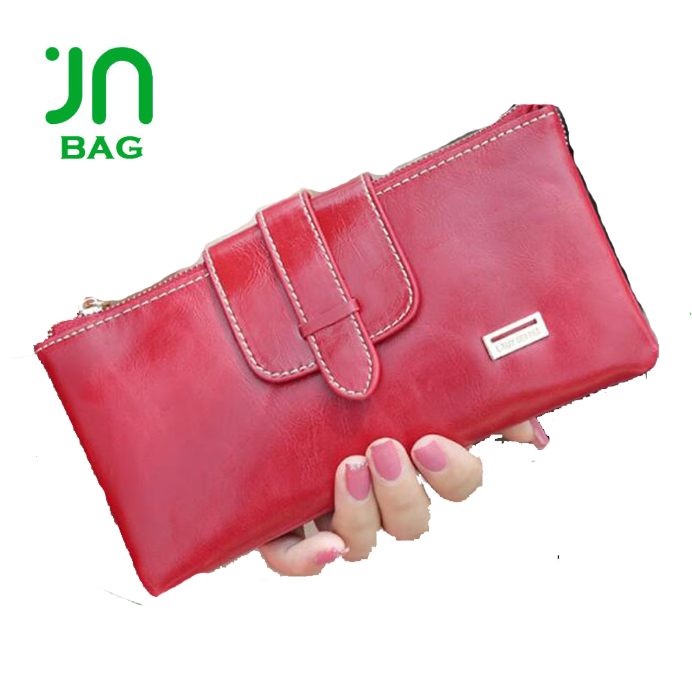 Wholesale fashion leather coin purse ladies phone purse