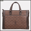 Latest design men custom leather italian leather briefcase
