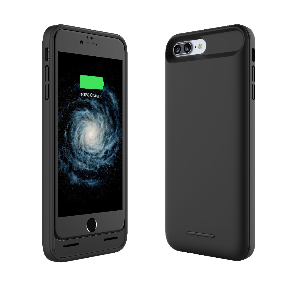 Custom logo mobile phone smart 4600mAh portable charger for battery case iphone