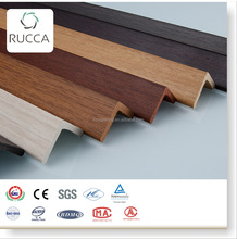 Hot !Foshan Rucca PVC Ceiling Corner Joist Plastic Composite Decoration Wall Panel /Timber 40X40MM
