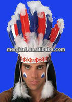 Native American Indian feather Headdress