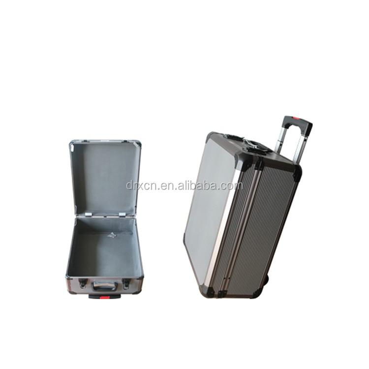 Hard metal tool sliver protective Aluminum Flight Case for music instruments
