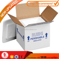 Thermo Chill insulated shipping carton box with foam shipper