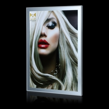 Ultra Thin Fashion Light Box Display Frame Led Aluminum Advertising Light Board