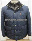 quilted jacket with gilet