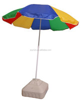 wholesale custom High quality steel frame folding beach umbrella manufacturer china