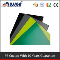 Old building exterior wall face-lifting pe coating aluminum composite sheets