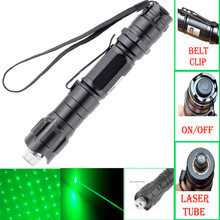 JSHFEI Best 10 Miles Range 532nm Green Laser Pointer Light Pen Visible Beam High Power Laser