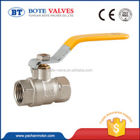 1/2 inch with cw617n material motorize gear operated ball valve brass body cheap brass water valve ball valve dn20