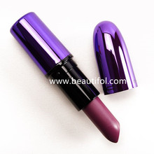 Custom moist wholesale cosmetics manufactures miss rose color lipstick