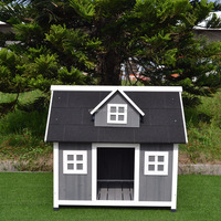 Wooden outdoor furnitue Wholesale dog kennel outdoor Cheap Wooden Dog House