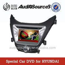 car audio system car dvd for Hyundai elantra 2012 with GPS sd usb Phonebook radio Aux cables
