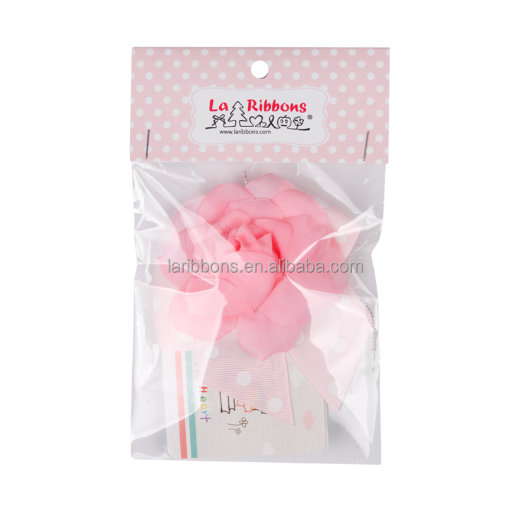 New arrival valentine's day ribbon flower gift for daily use with low price