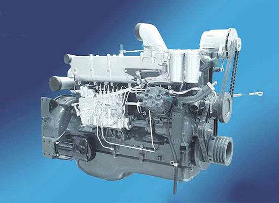 WEICHAI marine diesel engine with gearbox for boat