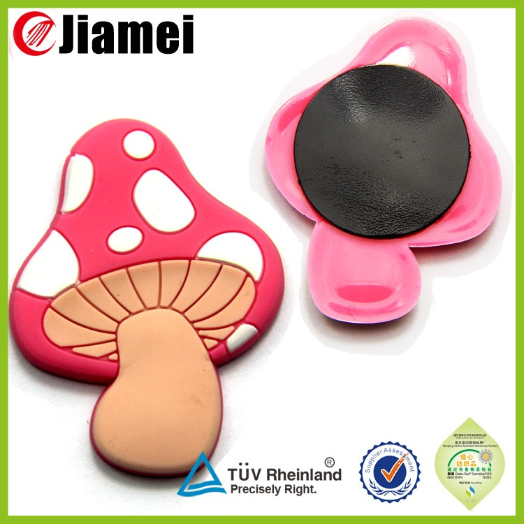 Factory Customized material silicone rubber pvc 3D fridge magnet
