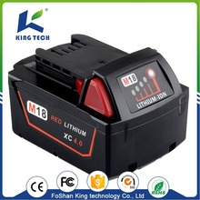 18V 4000mah li-ion Rechargeable superior power tools batteries for Millwaukee power tool