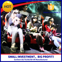 Game machine 5d simulator with diverse special effects vivid dinosaur rats 7d movies