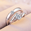 PR2523 cheap diamond ring price,925 silver fancy rings man woman