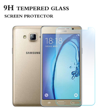 Main product simple design mobile phone use tempered glass screen protector for samsung On5